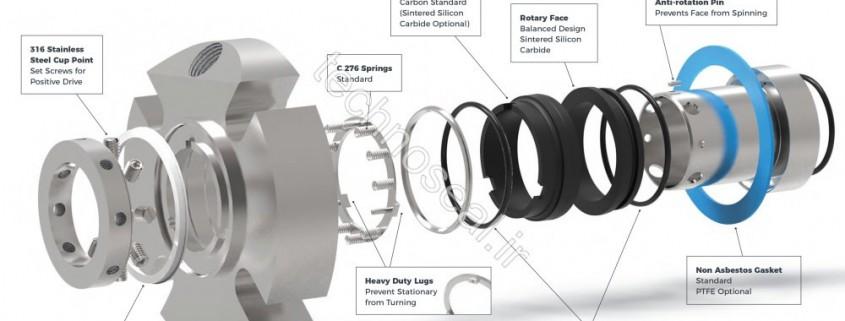 طراحی و ساخت آب بند مکانیکی
