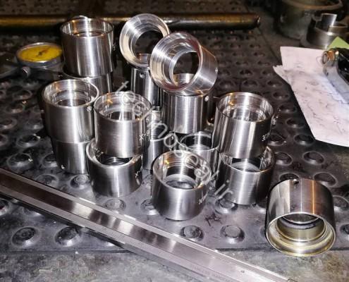 مکانیکال سیل فلزی و استیل