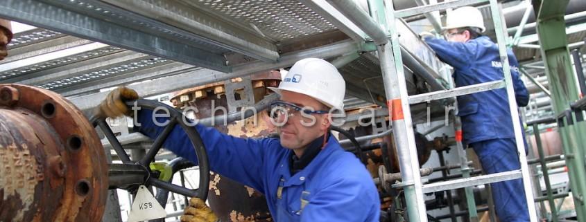تعمیر پمپ آب صنعتی
